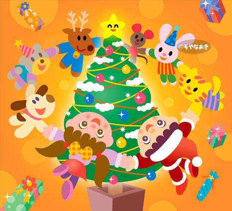 カレンダーイラスト-クリスマス