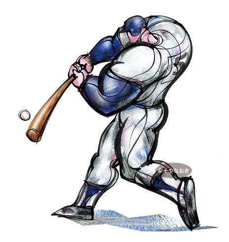 スポーツ野球強打者バッター
