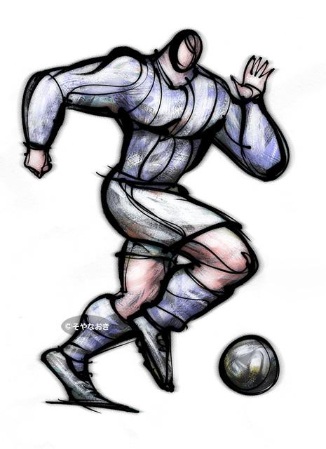 サッカー選手1