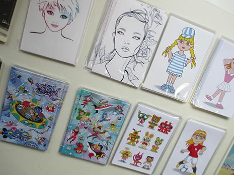 acv展で販売したポストカード