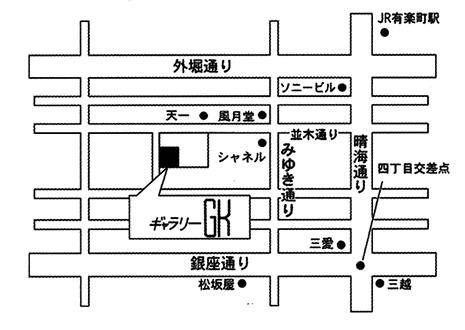 クロッカー展マップ