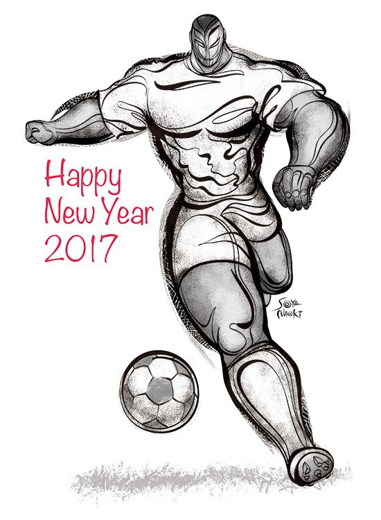 2017新年サッカー