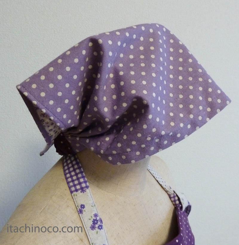 ジュニアエプロン・三角巾 女の子