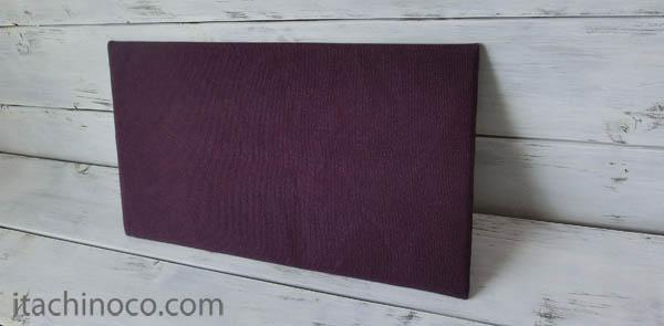 紫帆布トートバッグ4