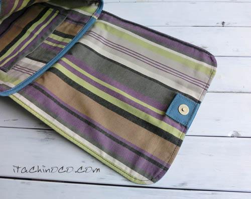 男の子帆布の図書バッグショルダー2