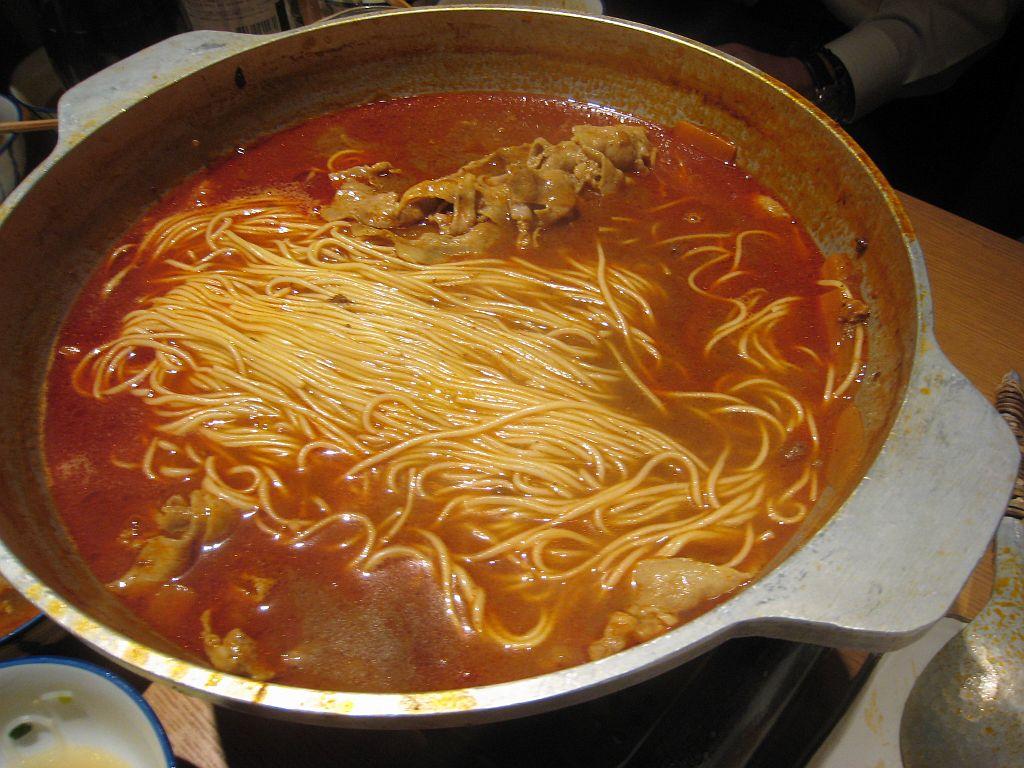 鍋ぶん_赤麺