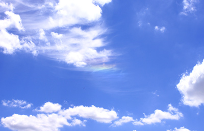 写真 虹雲 空