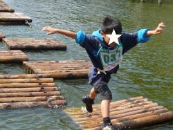 アスレチック 清水公園 水上アスレチック