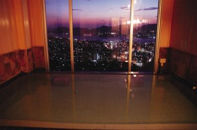 本館展望浴場紫夕景