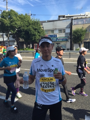 2014大阪マラソン30Km付近