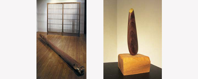 Scrap wood in memory 記憶の中の廃材 2002 & Memory of seed 種の記憶 2009 (1)