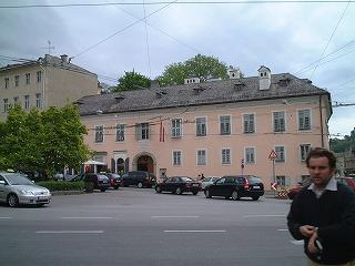 マカルト広場(モーツァルトの住居)
