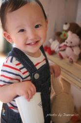 1歳の誕生日写真