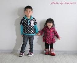 兄妹の写真