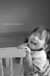 2歳誕生日記念写真