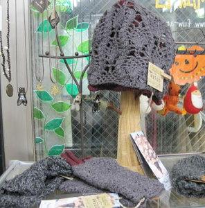 フェアトレードの手編み帽子2