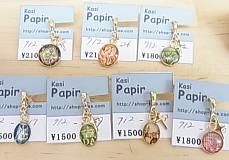 kasi*アンティーク切手のネックレス4