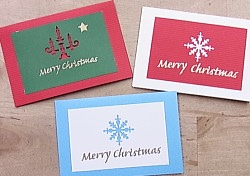 Simply-Whitely*クリスマスカード