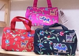 フェアトレード「ちび刺繍バッグ」