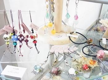 楓杏「とんぼ玉&とんぼ玉アクセサリー展」