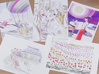 KIWAKO TANAKA ポストカード