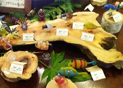 野村洋子 ガラスの動物展2