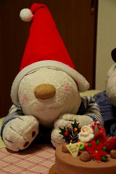 サンタさん、今日は泊まってってね♪