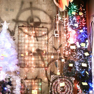 クリスマス用のキラキラ