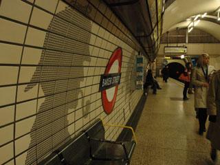 ベイカー・ストリート駅(Baker Street tube station)