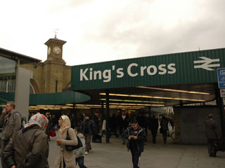 キングズクロス駅(Kings Cross railway station)