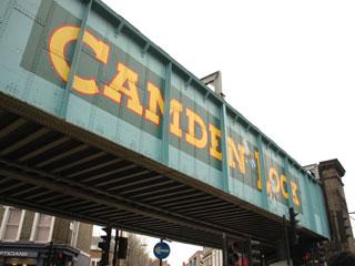 カムデンロックマーケット