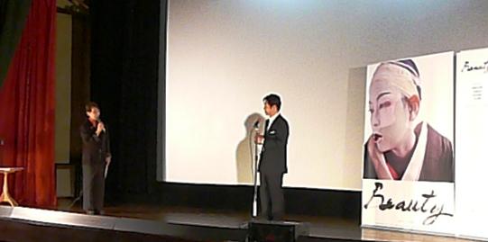 嘉島さんonステージ