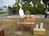 川守田地鎮祭