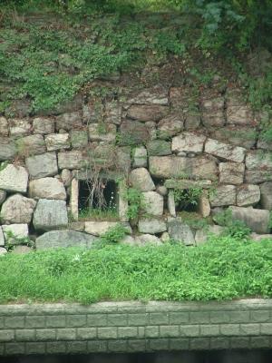 大坂城の石積み2