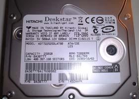 HDT722525DLAT80