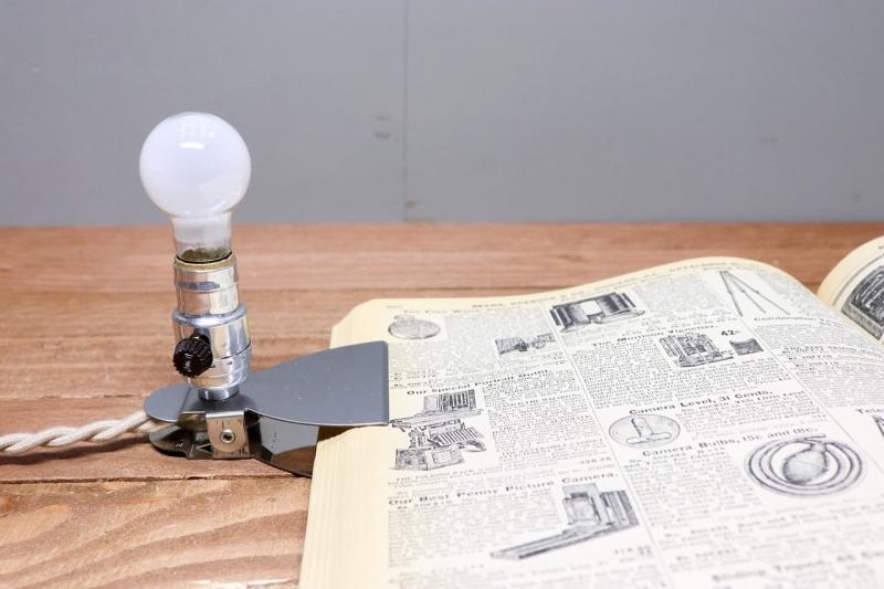 1950年代 ビンテージクリップランプ