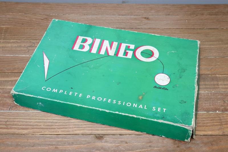 1950年代 ビンテージトイビンゴゲーム