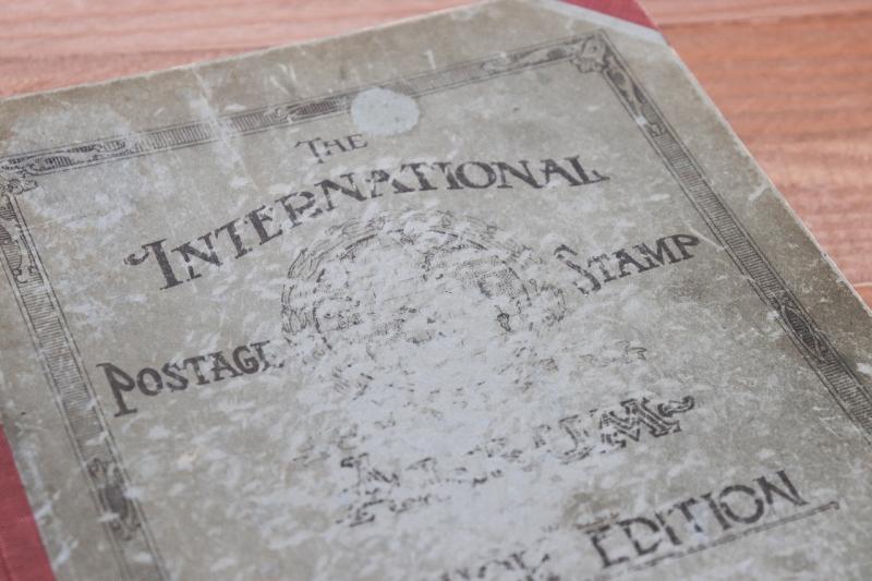 1924年 ビンテージスタンプ切手特集洋書