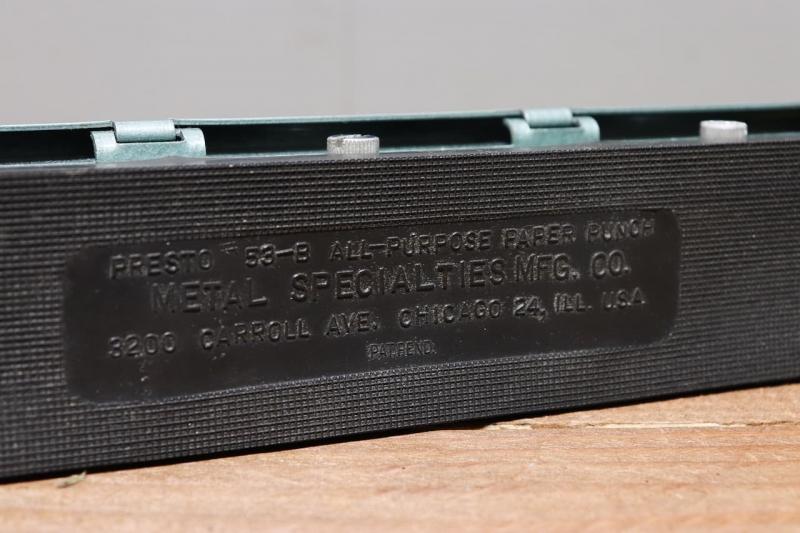 1970年代 アメリカヴィンテージ文房具穴あけパンチ