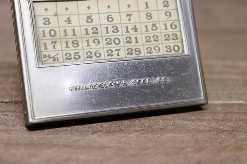 1920年代 ヴィンテージ万年デスクカレンダー