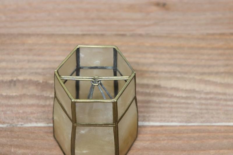 1960年代 ヴィンテージ貝殻クリップランプシェード
