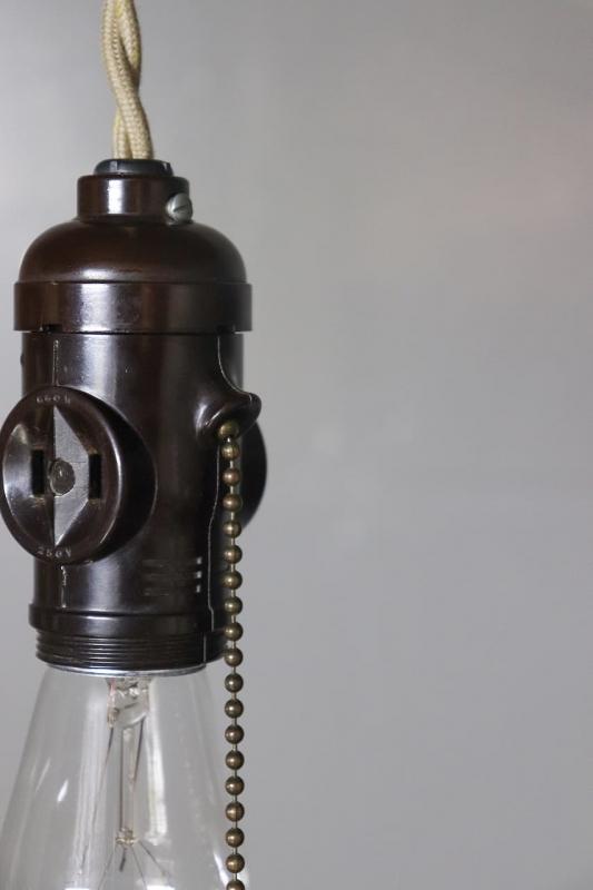 1940年代 ヴィンテージMonowattベークライトソケットランプ