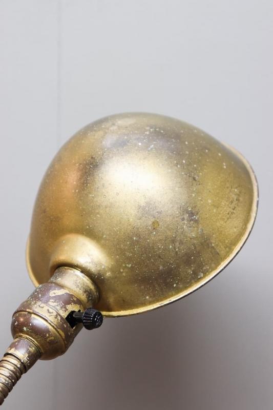 1930年代 ヴィンテージフレキシブルデスクランプ