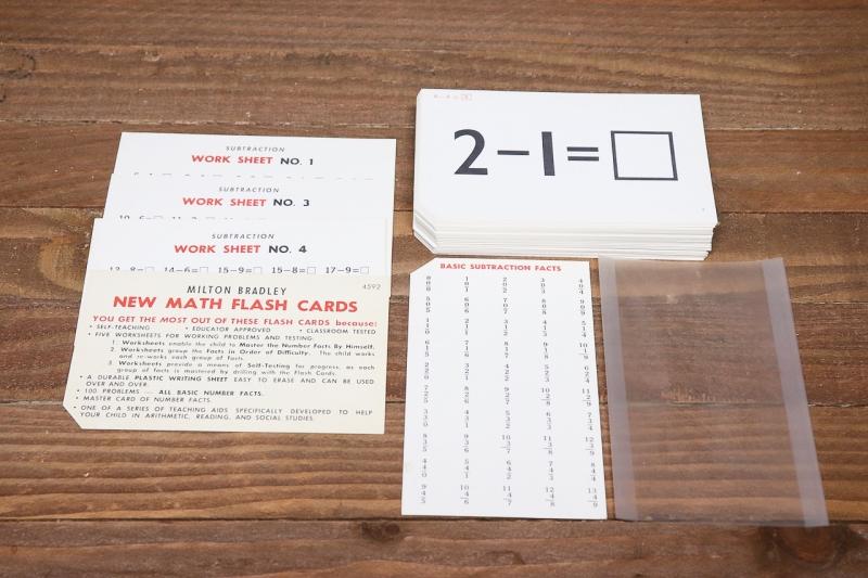 1960年代 ヴィンテージフラッシュカード