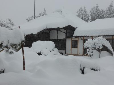 雪に埋もれた宗泉寺