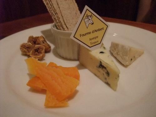 Bon appetit チーズの盛り合わせ