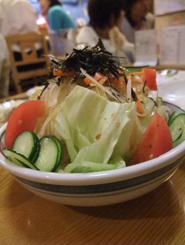 一番鳥 野菜サラダ