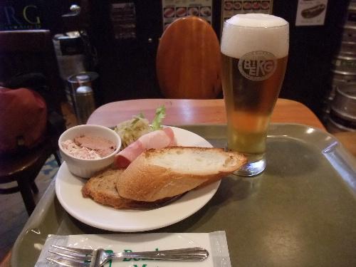 BERG ジャーマンブランチ+生ビール