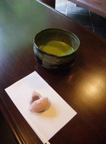 茶室円山庵 お茶+生菓子