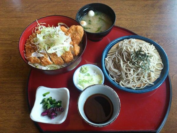 サガミ 塩カツ丼定食